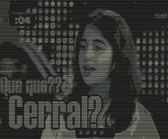 ASCII Art: Abril Cerral by yonicdeviant