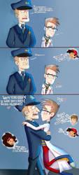 .: Mini Comic:.  GxN by XxJadeSilver
