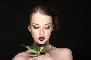 Birds of Paradise II by MeganCoffey