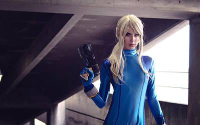 Zero Suit Samus by MeganCoffey