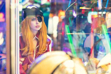 Arcade Asuka by MeganCoffey