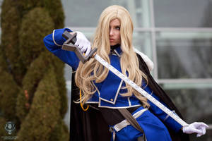 Olivier Mira Armstrong II by MeganCoffey