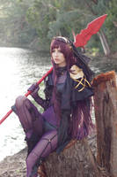 Scathach - Forest XIV by MeganCoffey