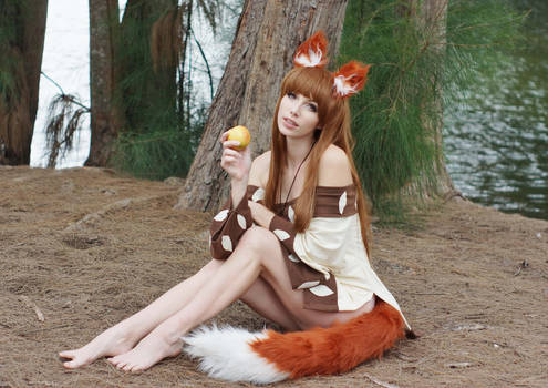 Wise Wolf - Holo X by MeganCoffey