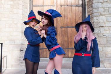 Little Witch Academy II by MeganCoffey