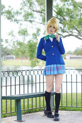 Eli - Uniform II by MeganCoffey