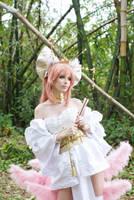 Goddess Tamamo VII by MeganCoffey