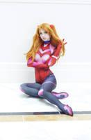 Valentine Plugsuit Asuka by MeganCoffey