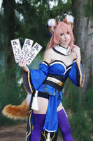 Tamamo No Mae III by MeganCoffey