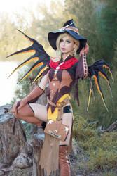 Witch Mercy - Woods by MeganCoffey
