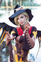 Witch Mercy - Woods VI by MeganCoffey