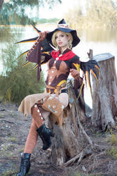 Witch Mercy - Woods III by MeganCoffey