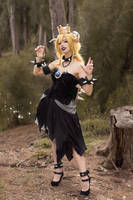 Bowsette - Forest by MeganCoffey