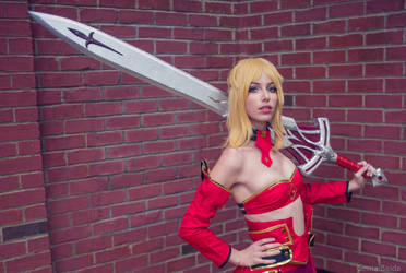Saber of Red V by MeganCoffey