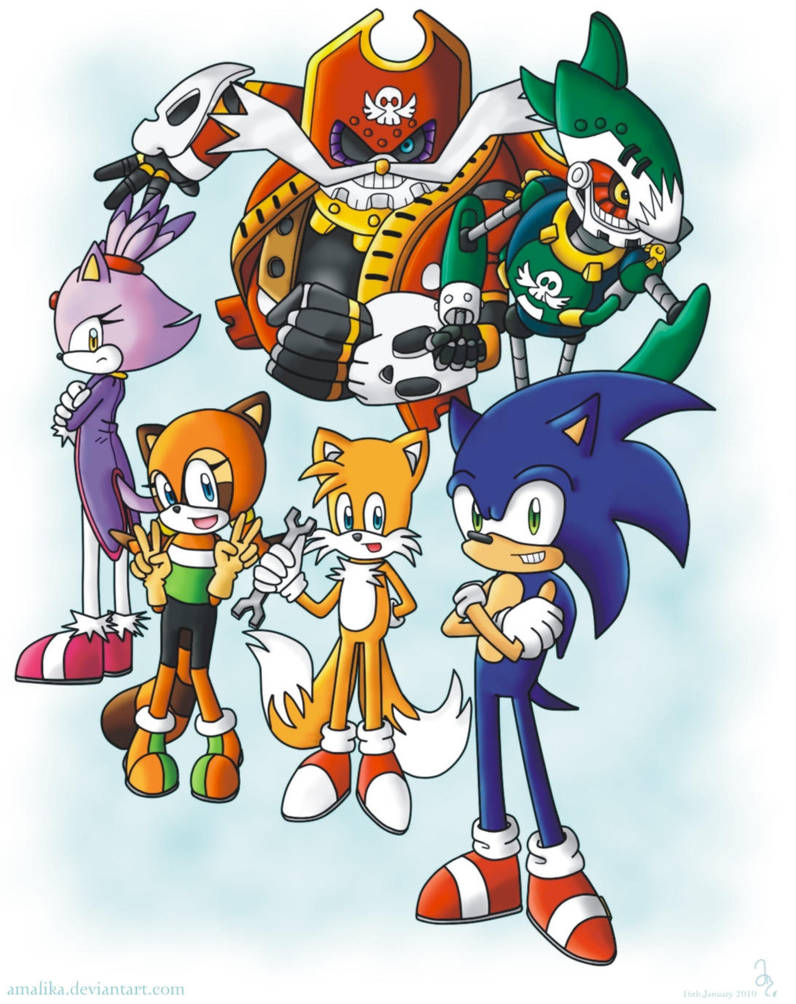 Sonic Rush Adventure Tribute By Amalika On Deviantart
