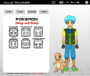 Pokemon Trainer OC #1 by TheUndeadHerobrine