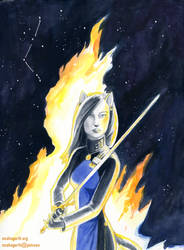 Sword of the Alliance Cover by mcah