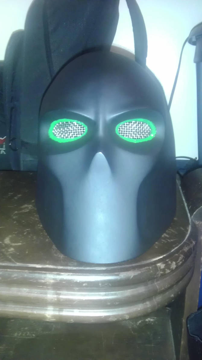 Ninja-X New Mask by schooltrashers