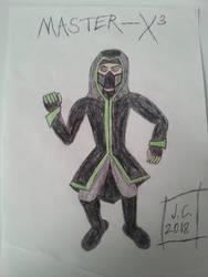 Master-X by schooltrashers