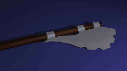 Warrior's Great Axe by AfterField