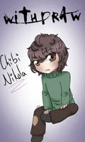 WithDraw: Chibi Nikola by NightmareQueenKasei