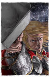 Astonishing Thor 4 cover by MichaelChoiArt