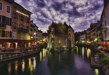 Palais de l'Isle Annecy by arnaudperret