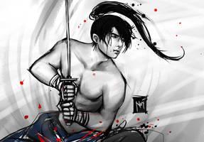 Warrior by noanio