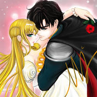 Serenity x Endymion by noanio