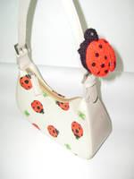 Ladybug Purse by honeyness