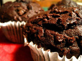 Chunky Chocolate Muffins by kgpanelo