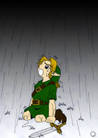 Young Link by WryFighter
