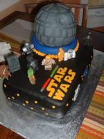 Stars Wars Lego Cake by Afina79
