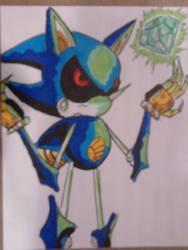 Metal Sonic by RKdiaComics