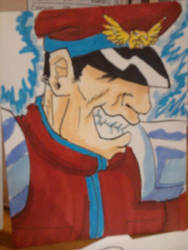 M. Bison by RKdiaComics