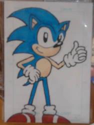Classic Sonic by RKdiaComics