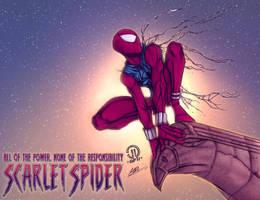 Hero #1: Scarlet Spider by KHAN-04