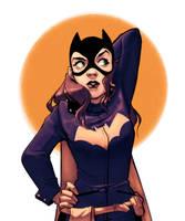 Practice - Batgirl by KHAN-04
