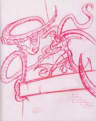 Octopus Woman by WindyKid