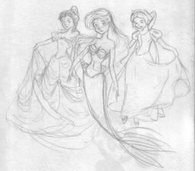Disney Girls by WindyKid