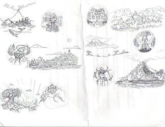 Fantasy Worlds by WindyKid