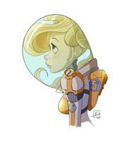 Spacegirl by NoahEisenman