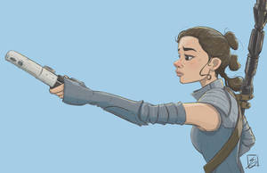 Rey (The Last Jedi) by NoahEisenman