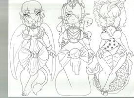 myth inks by kana-kana