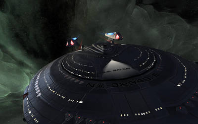 The U.S.S. Balius KT by Reuster