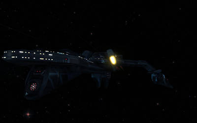 Klingon Cruiser by Reuster