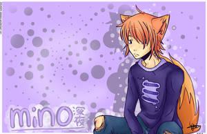 Mino-kun. by handbeer