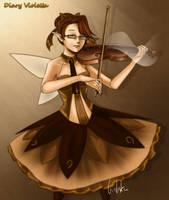 OC: Diary Violetta by handbeer