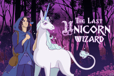 The Last Unicorn Wizard by satme97
