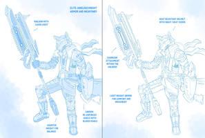 Elite Jubelius Knight Concept by 7THeaven